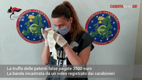 Il video dello scambio dei soldi che incastra la banda delle 'patenti false'
