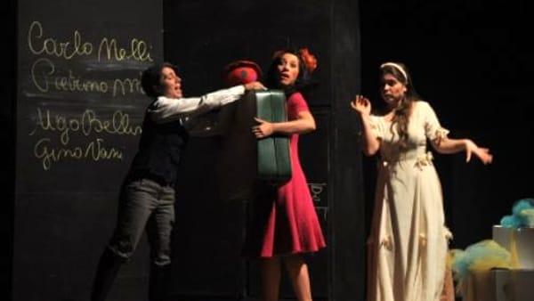 """""""A Teatro con mamma e papà"""" per vedere Gianburrasca"""