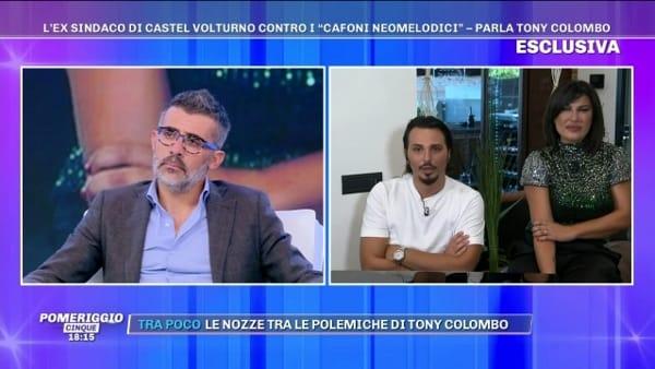 L'ex sindaco litiga in tv con Barbara D'Urso sui cantanti neomelodici I VIDEO