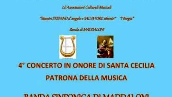 La banda sinfonica ed il Convitto celebrano Santa Cecilia