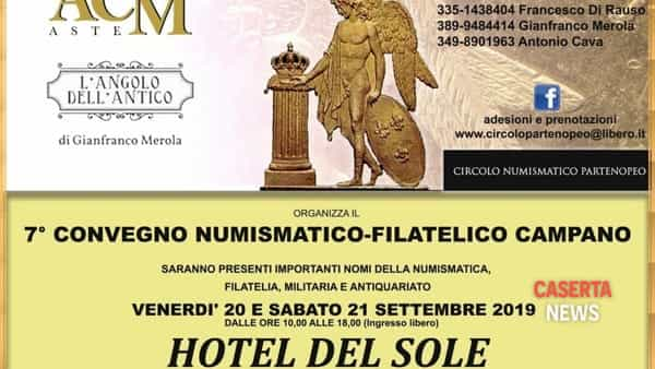 Gli appassionati di francobolli e monete si ritrovano a Capua