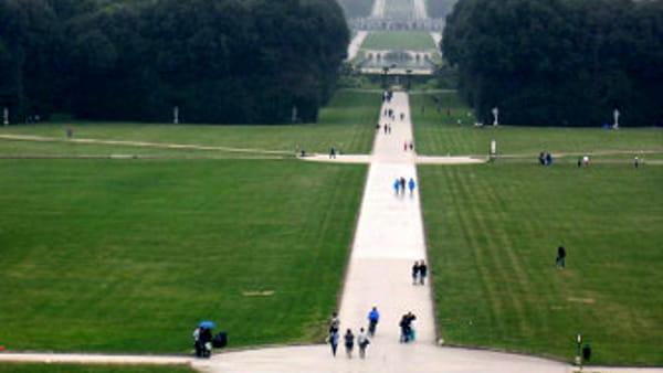 Passeggiate nel parco della Reggia nella giornata mondiale del cuore