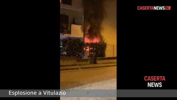 Esplode bombola di gas, paura nella palazzina | VIDEO