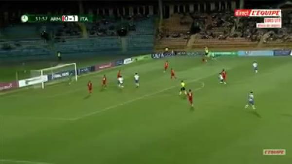 Show di Merola agli Europei, gol di tacco del talento casertano | IL VIDEO