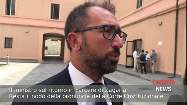 "Scarcerazione Zagaria, Bonafede: ""Governo ha riportato i boss in cella"" 