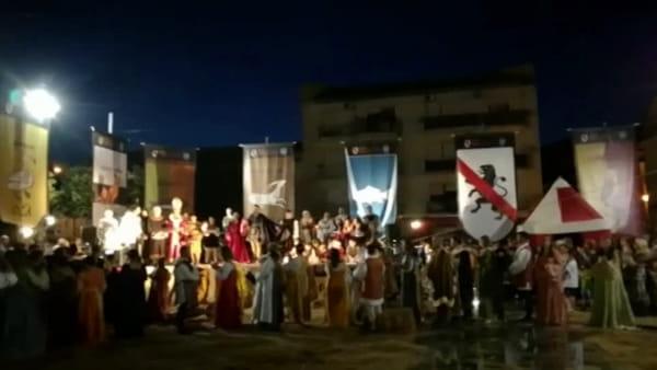 Lo spettacolo delle nozze di Giovannella Stendardo I VIDEO