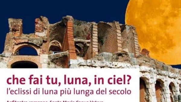 La Luna protagonista all'Anfiteatro dell'evento astrofisico del secolo
