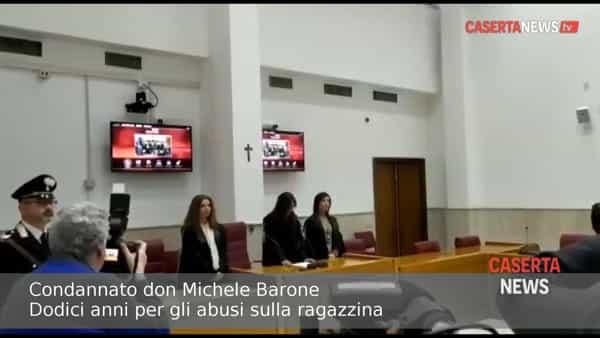 La lettura della sentenza a carico di don Michele Barone | VIDEO
