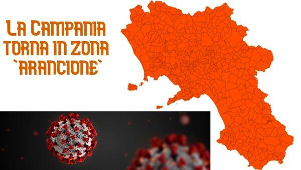 La Campania torna 'arancione': ecco cosa cambia da lunedì