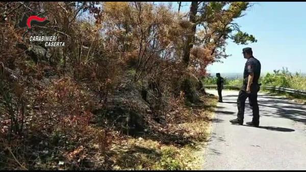 Boschi dati alla fiamme per la caccia ai cinghiali, presi i due piromani | IL VIDEO