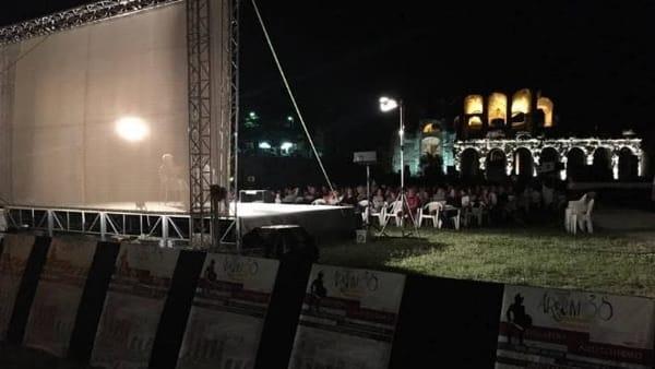 """""""Dall'arena allo schermo"""": al via la rassegna cinematografica all'anfiteatro"""