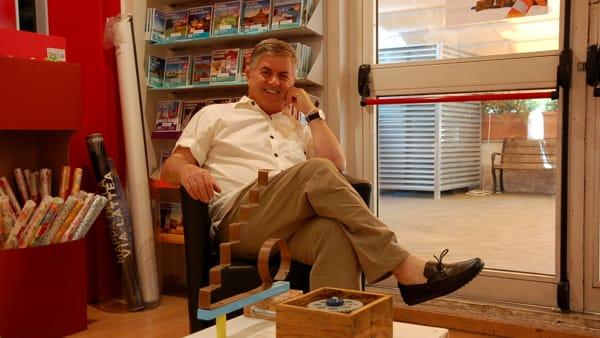 """Da 'Libreria Spartaco' la mostra parlata """"I legni di Gustavo Delugan"""""""