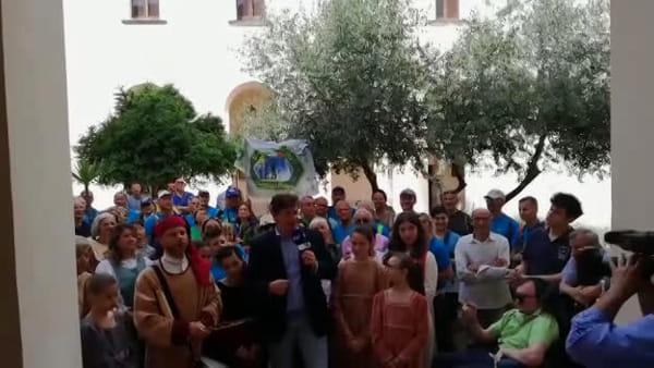 Le telecamere della Rai per il matrimonio di Giovannella I VIDEO