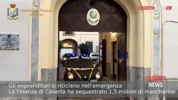 Il mercato degli 'imprenditori riciclati': 1,5 milioni di mascherine sequestrate nel casertano | VIDEO
