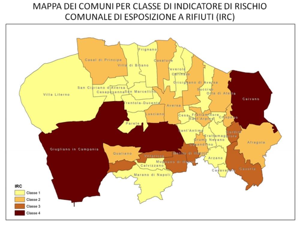 Cartina Campania Con Tutti Comuni.Terra Dei Fuochi Mappa Comuni Dove Si Muore Di Piu
