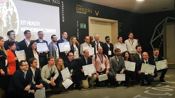 I vincitori del premio a Lisbona-2