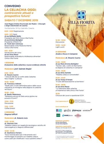 Locandina convegno celiachia clinica villa fiorita-2