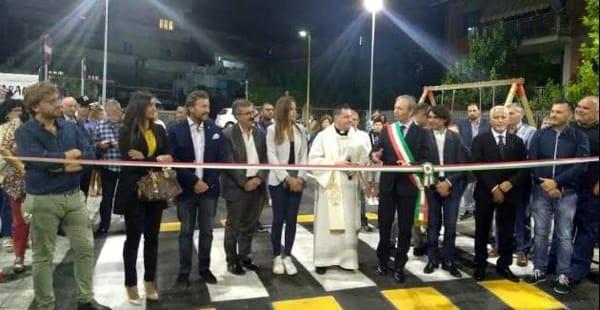 parcheggio botteghelle santa maria a vico inaugurazione-2
