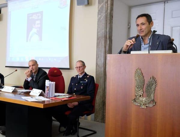 L'intervento del CT della Nazionale Italiana di Spada, Sandro Cuomo-2